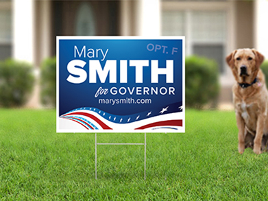 24x18 Yard Sign - Option F