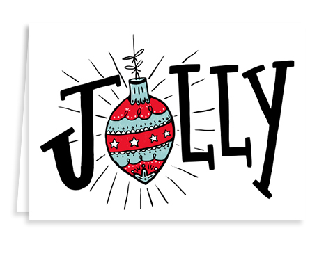 jolly holiday card from Graphicsource