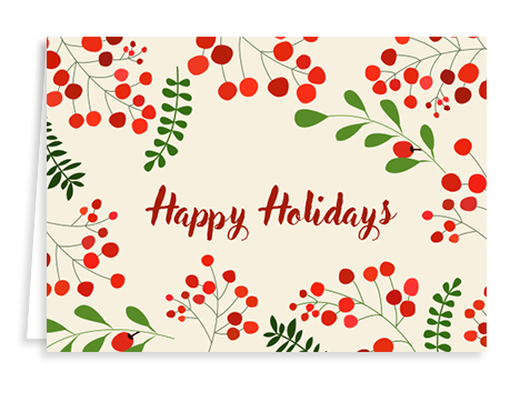 holly-holiday-card from Graphicsource