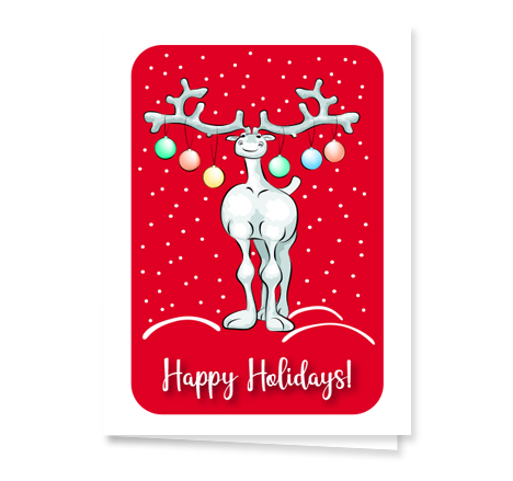 Reindeer-holiday-card from Graphicsource