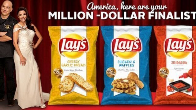 Lays, Do Us A Flavor promotion via Huff Post