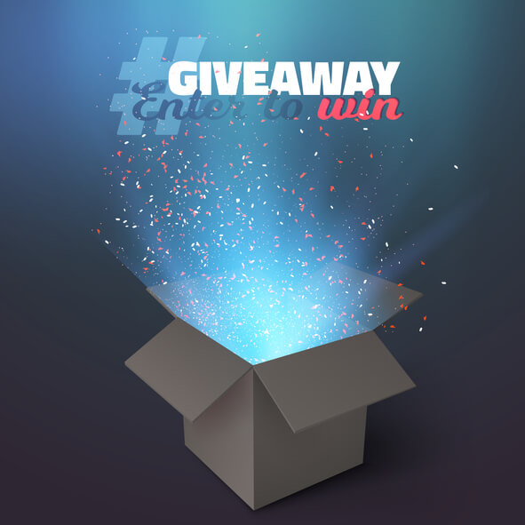 Using a giveaway as a promotional tool