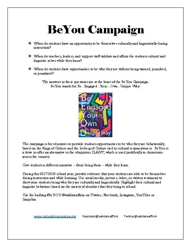 BeYou Campaign -