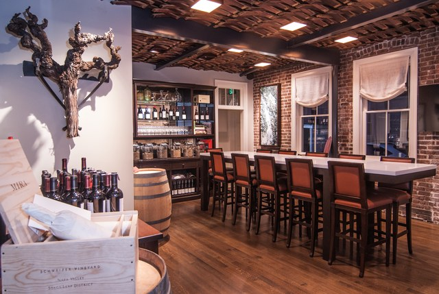 The tasting room at  Mira Winery .