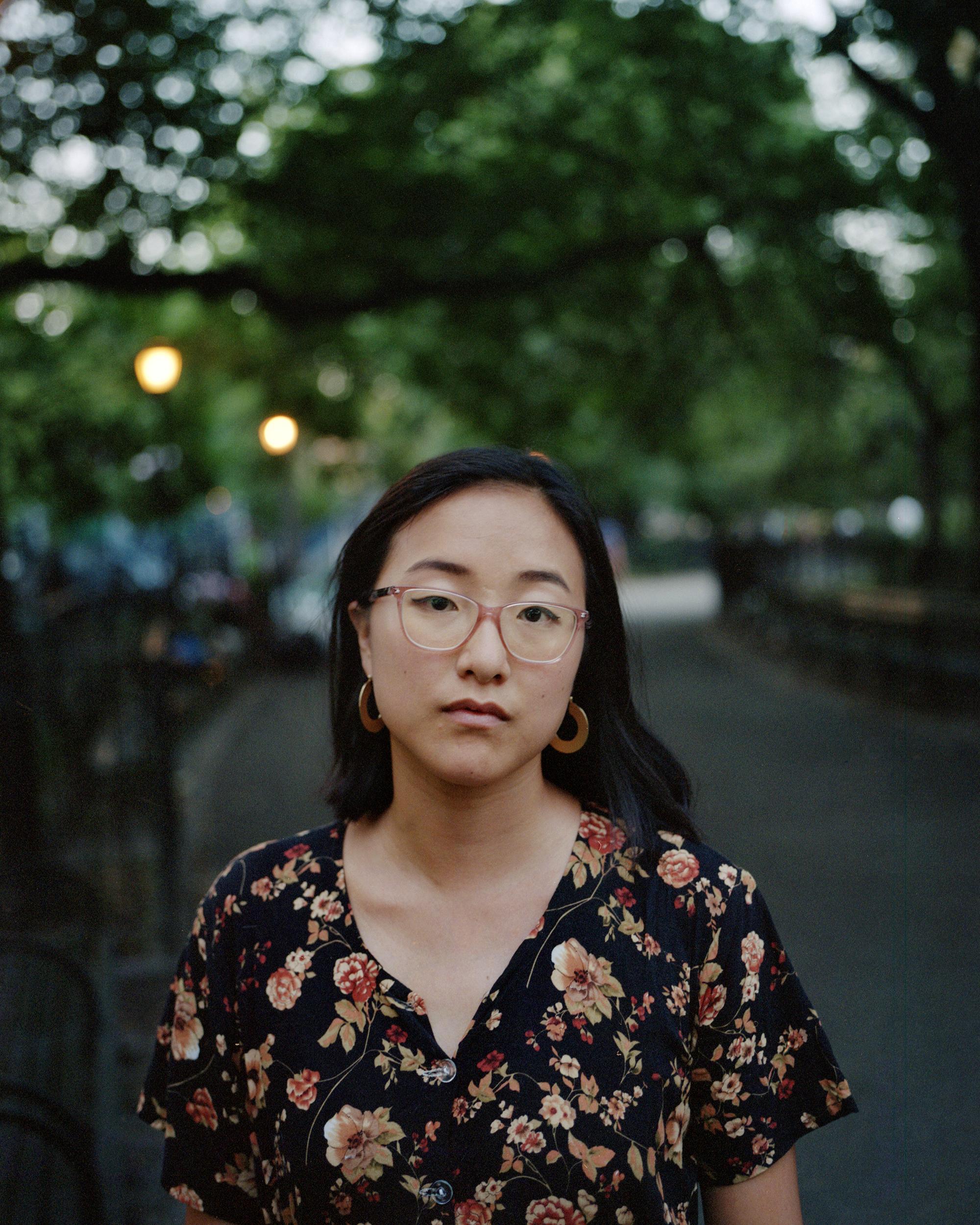 Victoria Lin on her 25th birthday, Brooklyn, NYC. 2018.