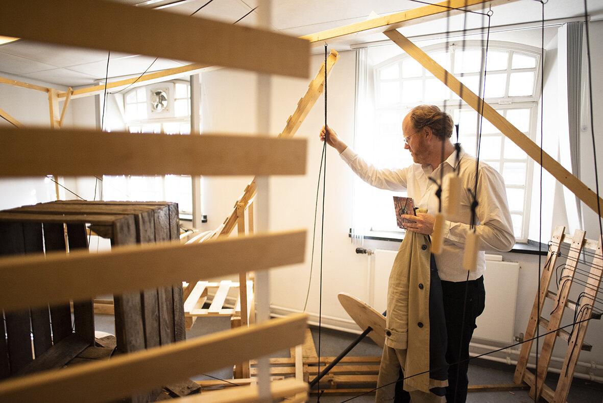 Tentoonstelling ontwerp Trudy Hekman Make Space HKU