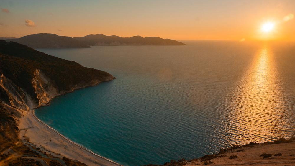 Mrytos Sunset - Kefalonia - Greece