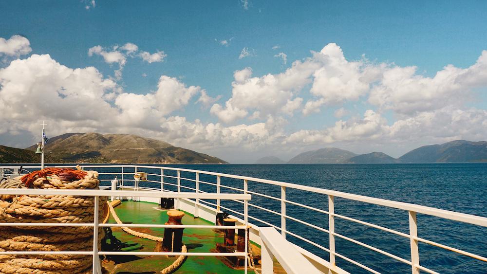 Ionian Pelagos Ferry - Ithaca - Kefalonia