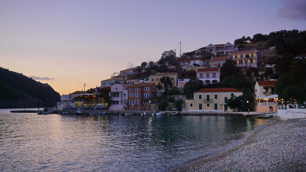 Assos Village - Evening - Kefalonia