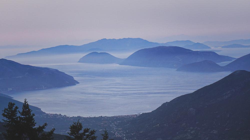 Mount Ainos Sunset - Enos - Kefalonia