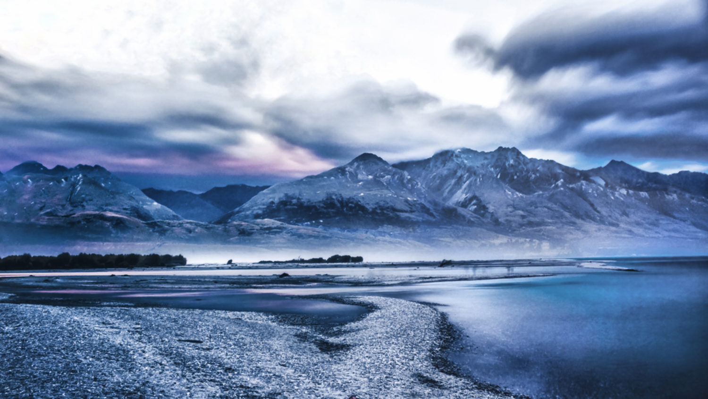 Glenorchy - Kinloch Camping - Mountains - Lake Wakatipu - NZ