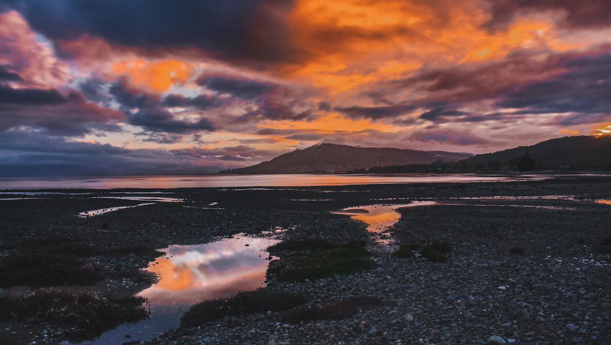 Golden Bay - Sunset - New Zealand