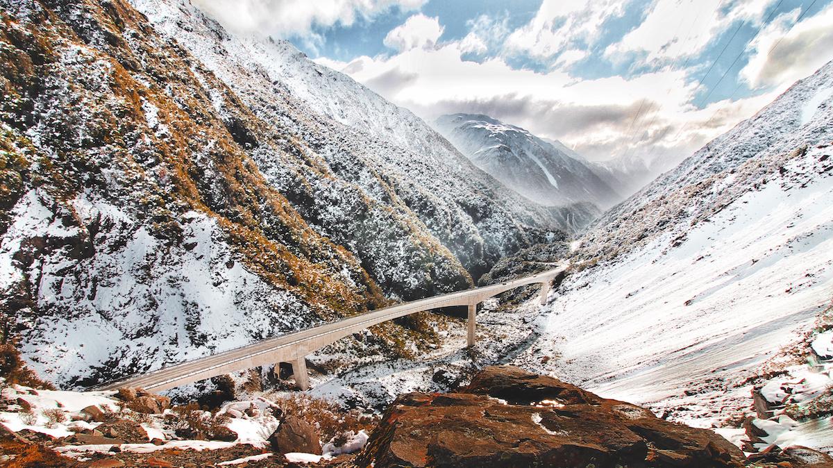 Arthurs Pass - Winter - NZ