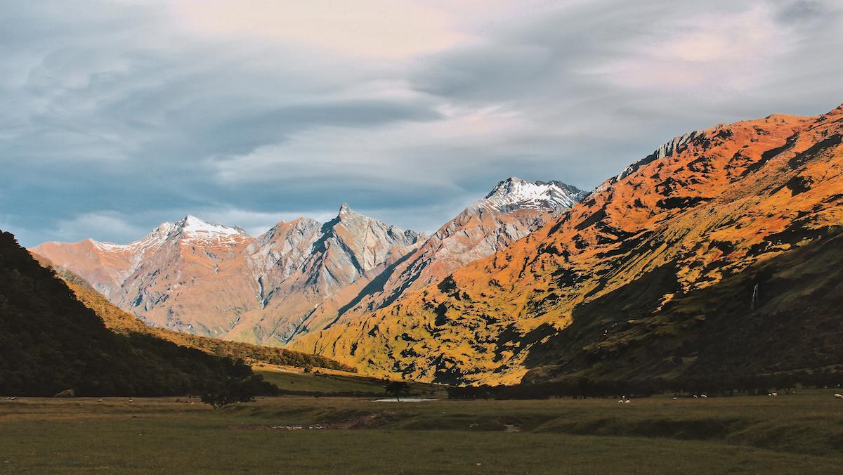 Mt Aspiring National Park - Mountains - NZ
