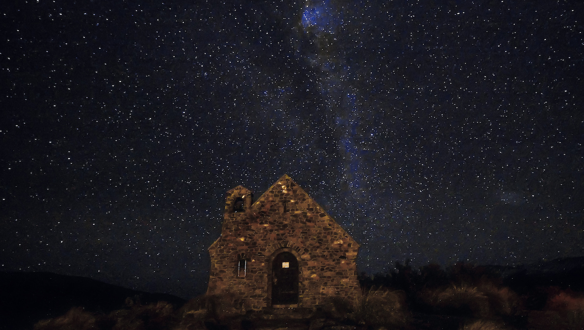 Tekapo - Star Gazing - Milky Way - Church of the Good Shepherd - NZ