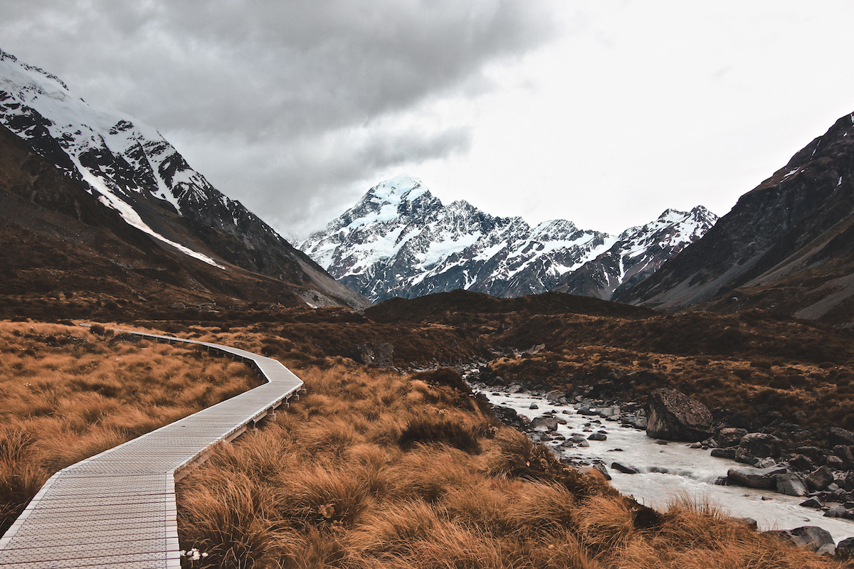 Hooker Valley Track - Mt Cook - NZ