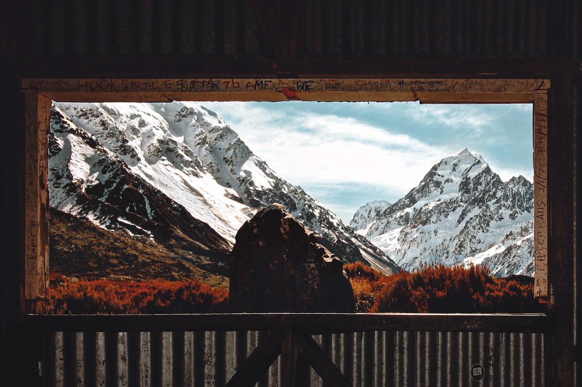 Hooker Valley - Mt Cook - Postcard - NZ