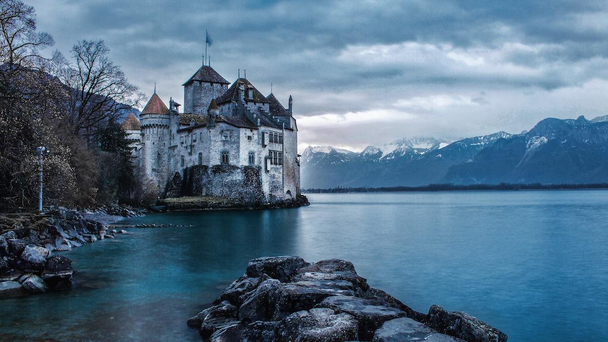 Chateau de Chillon - Montreux, Switzerland