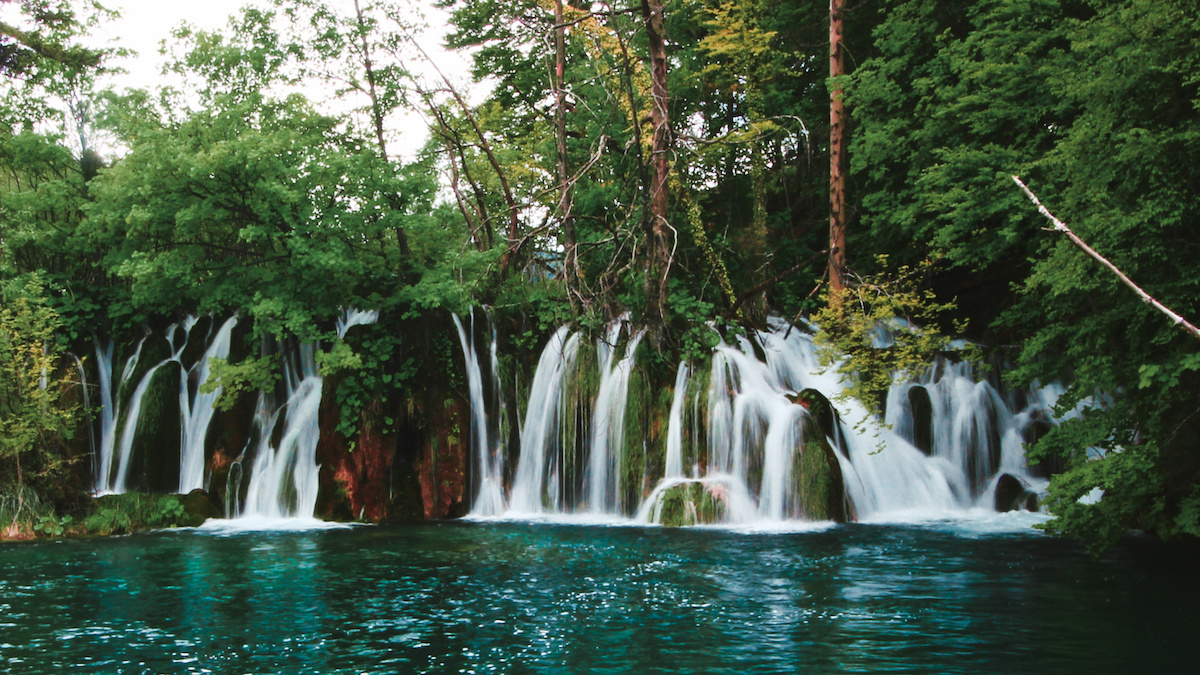 Waterfalls - Plitvice National Park - Croatia