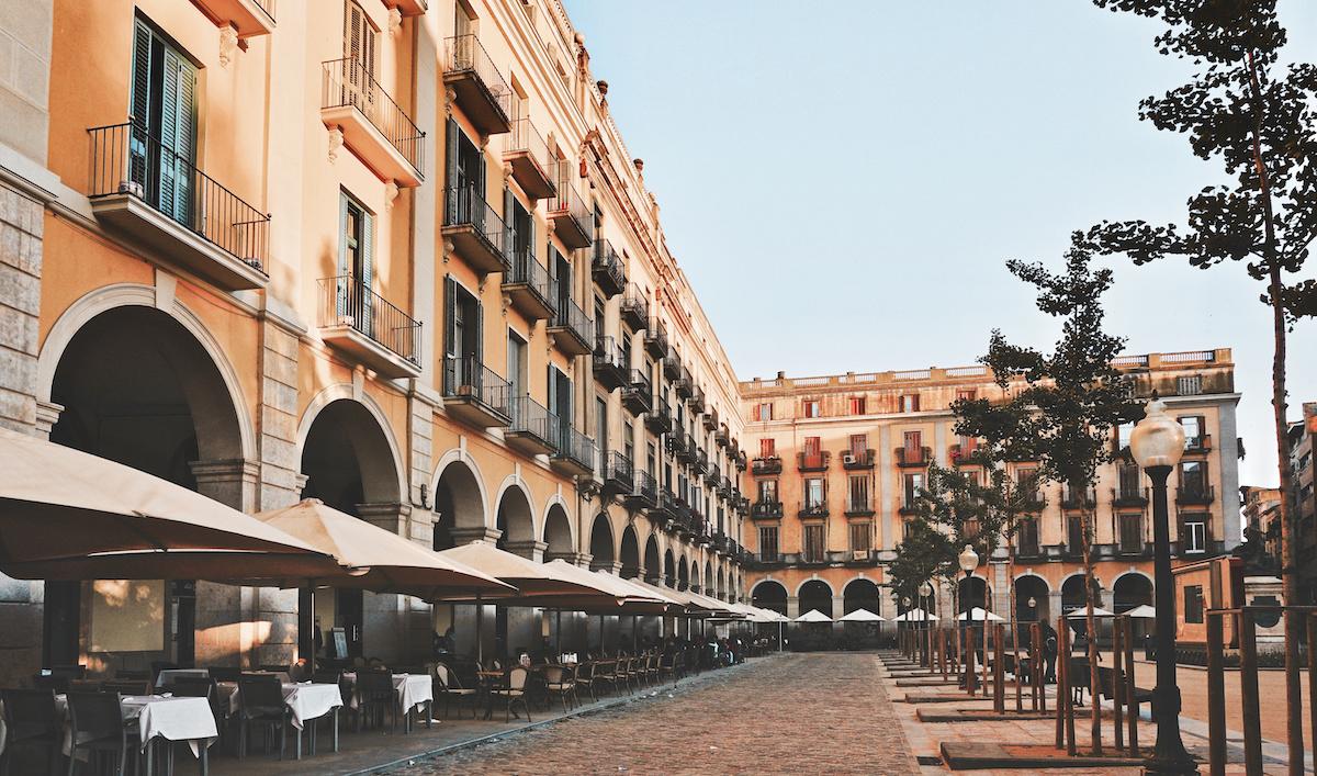 Town Square - Girona, Spain