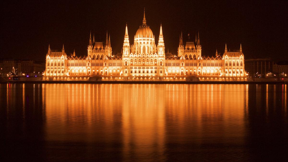 Parliament at Night - Budapest, Hungary