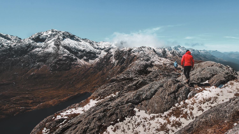 Routeburn Track Summit - Great Walk - NZ