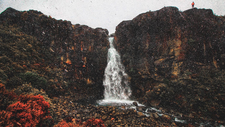 Taranaki Falls - Waterfall - NZ