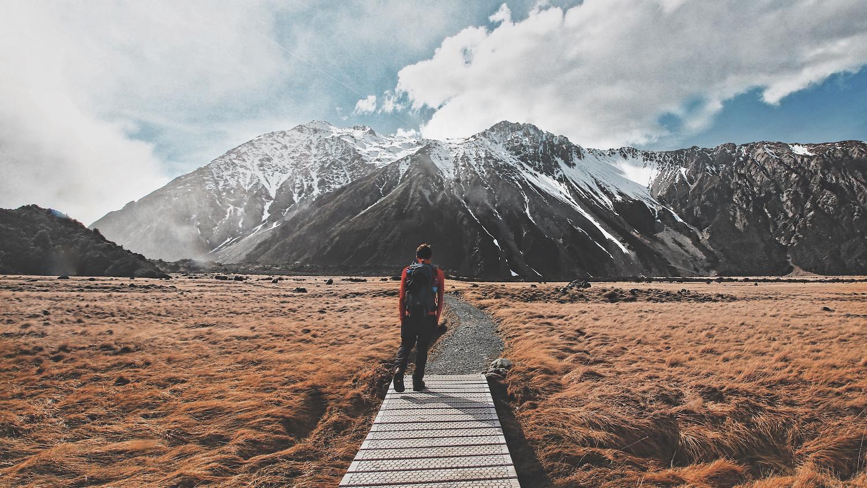 Hooker Valley Track - Mt Cook National Park - NZ