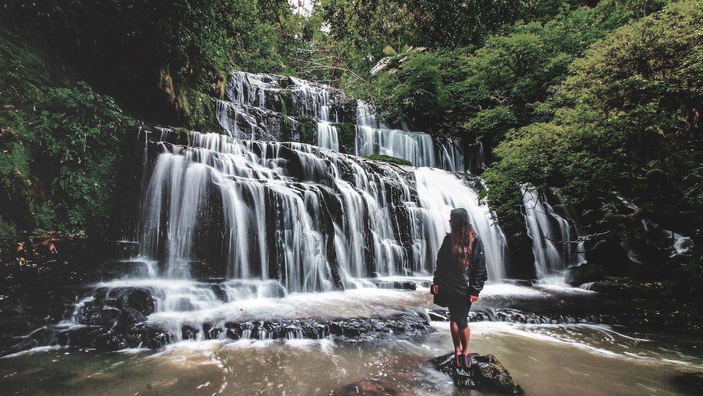 Purakanui Falls - Catlins, Otago - NZ