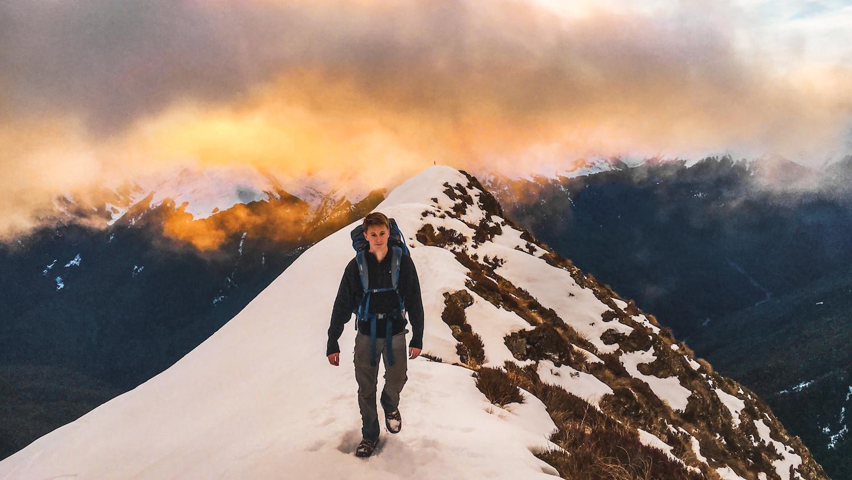 Brewster Hut - Sunset Hike - Mt Aspiring National Park, NZ