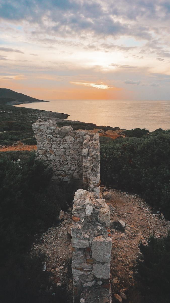 Old Ruins at Nord Cap