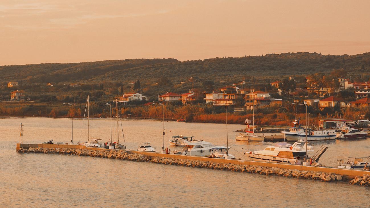 Ferry Port Killini, Greece