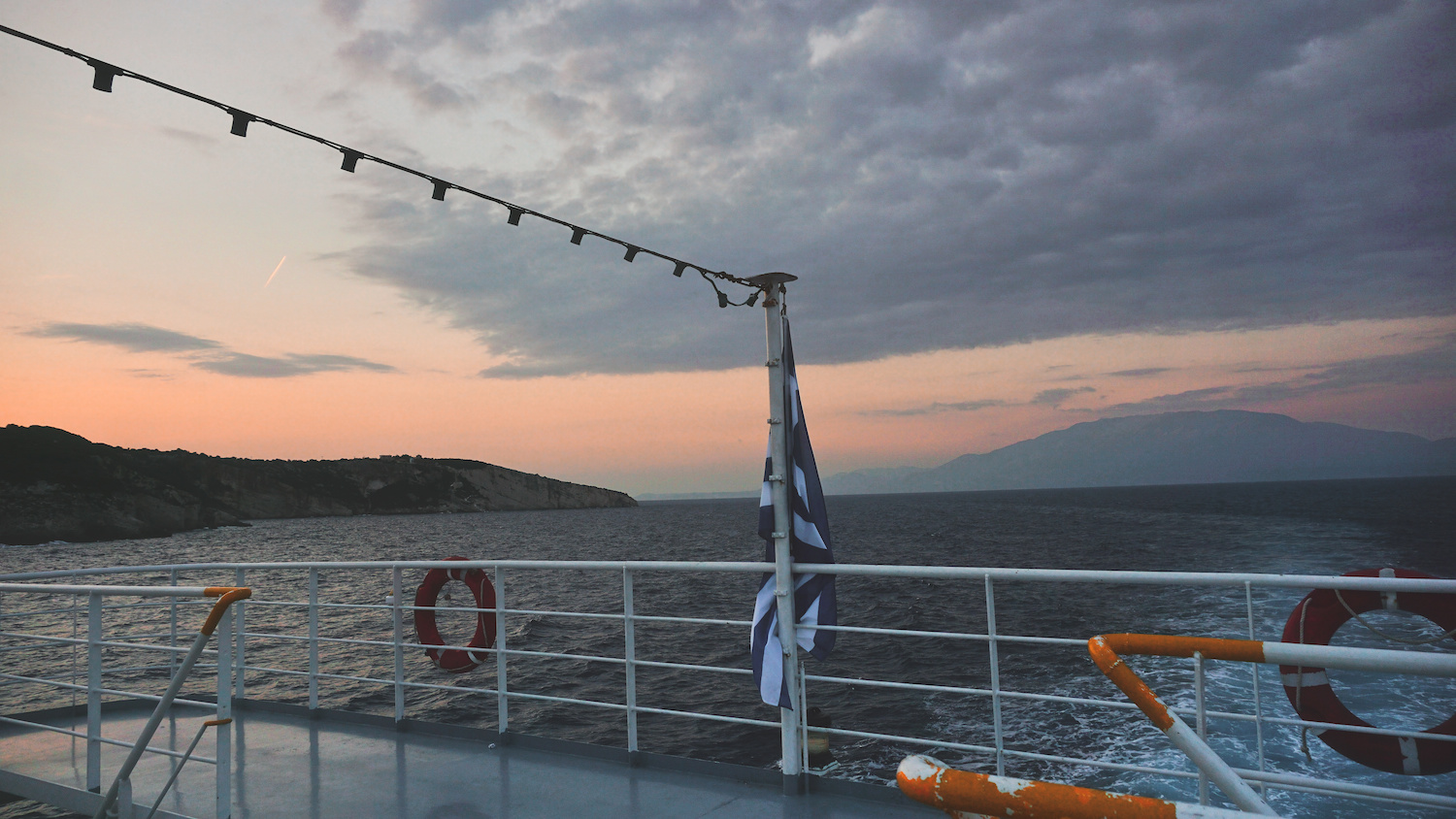 Ionian Pelagos Ferry to Zante