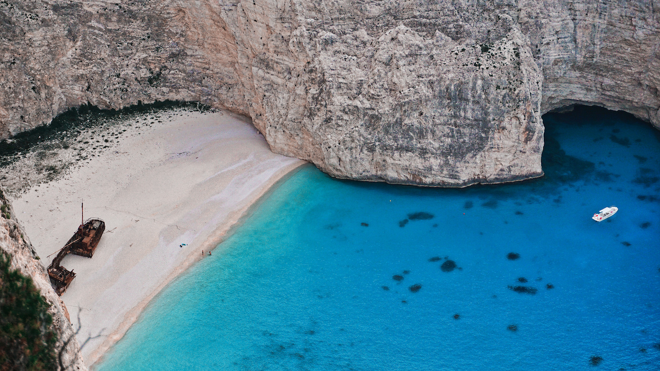 Shipwreck Cove - Nagavio Beach - Zakynthos