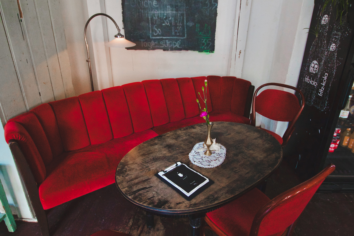 The very hipster Burggasse 24 - Cafe & Vintage Clothing Shop
