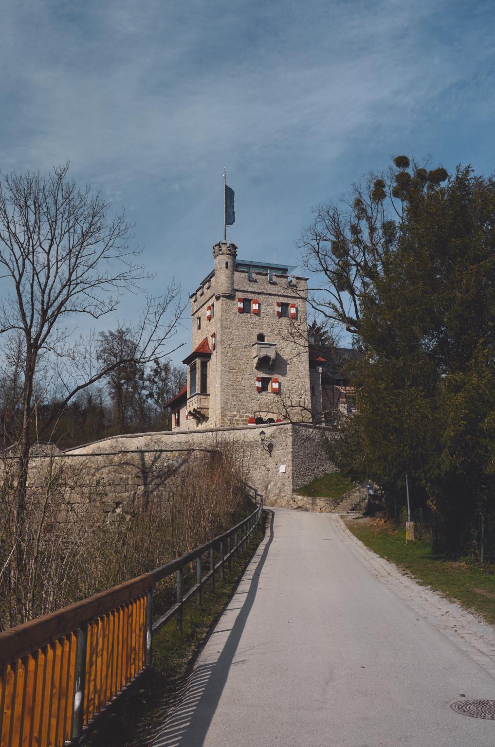 Freyschlössl-Roter Tower, Mönchsberg, Salzburg