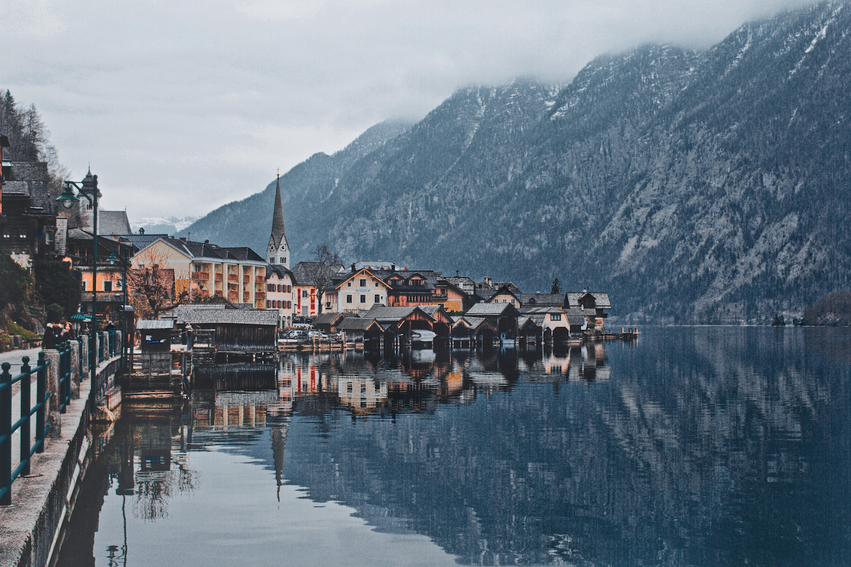 Hallstatt Village and Lake