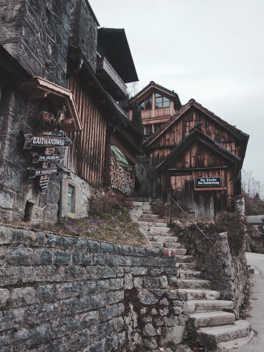 Hallstatt Alpine Houses