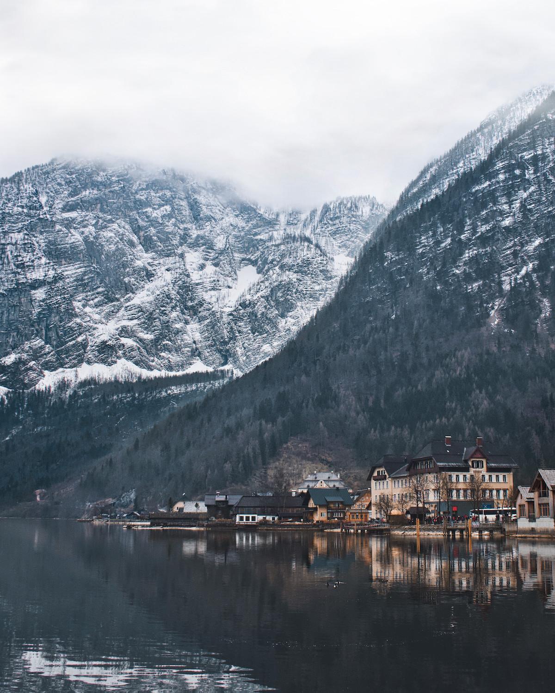 Hallstatt Lake & Village from Ferry