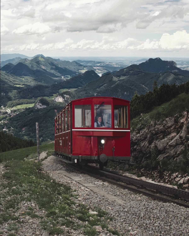 Schafbergbahn, Salzburg Region
