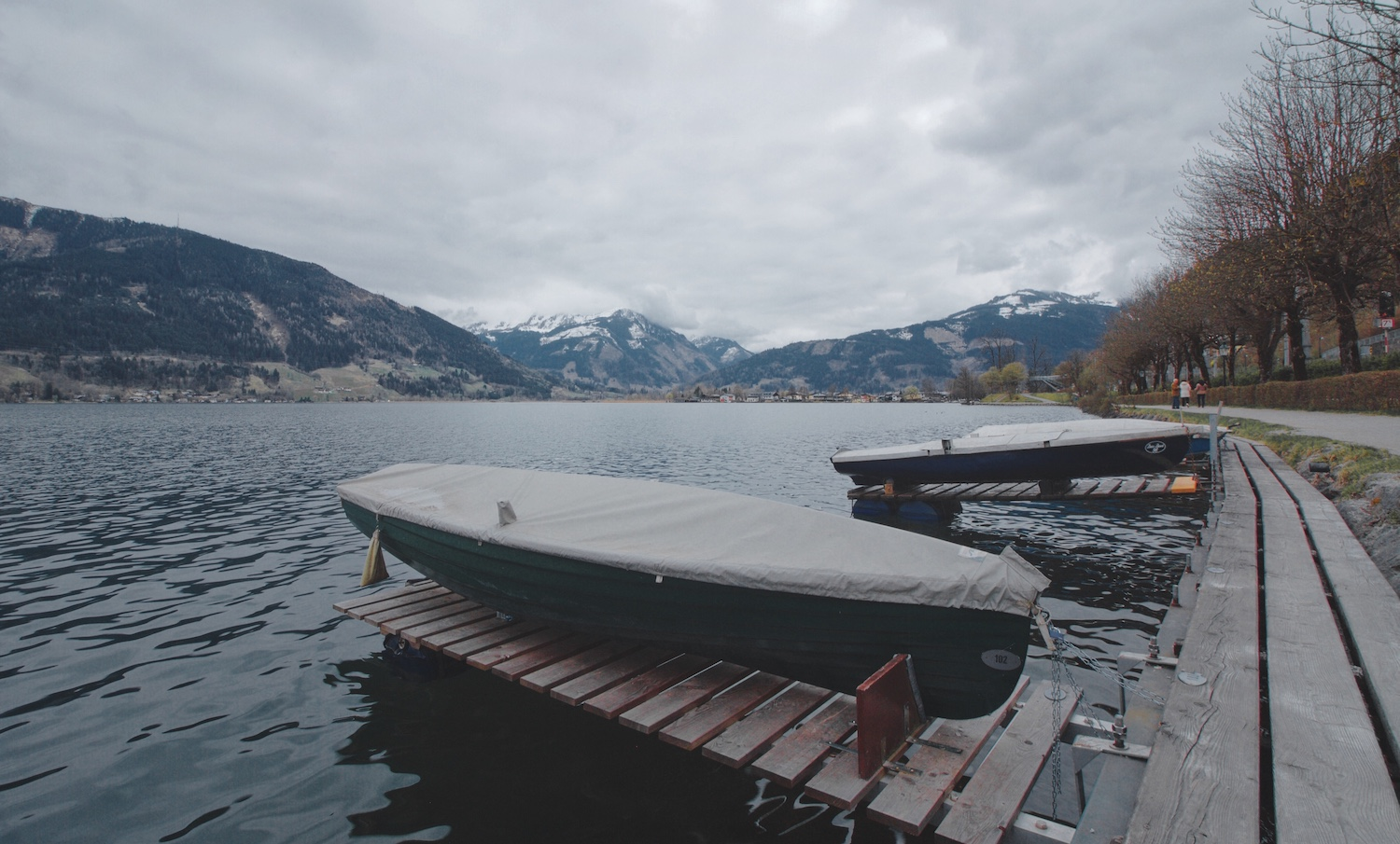 Zell am See - Boats and Lake