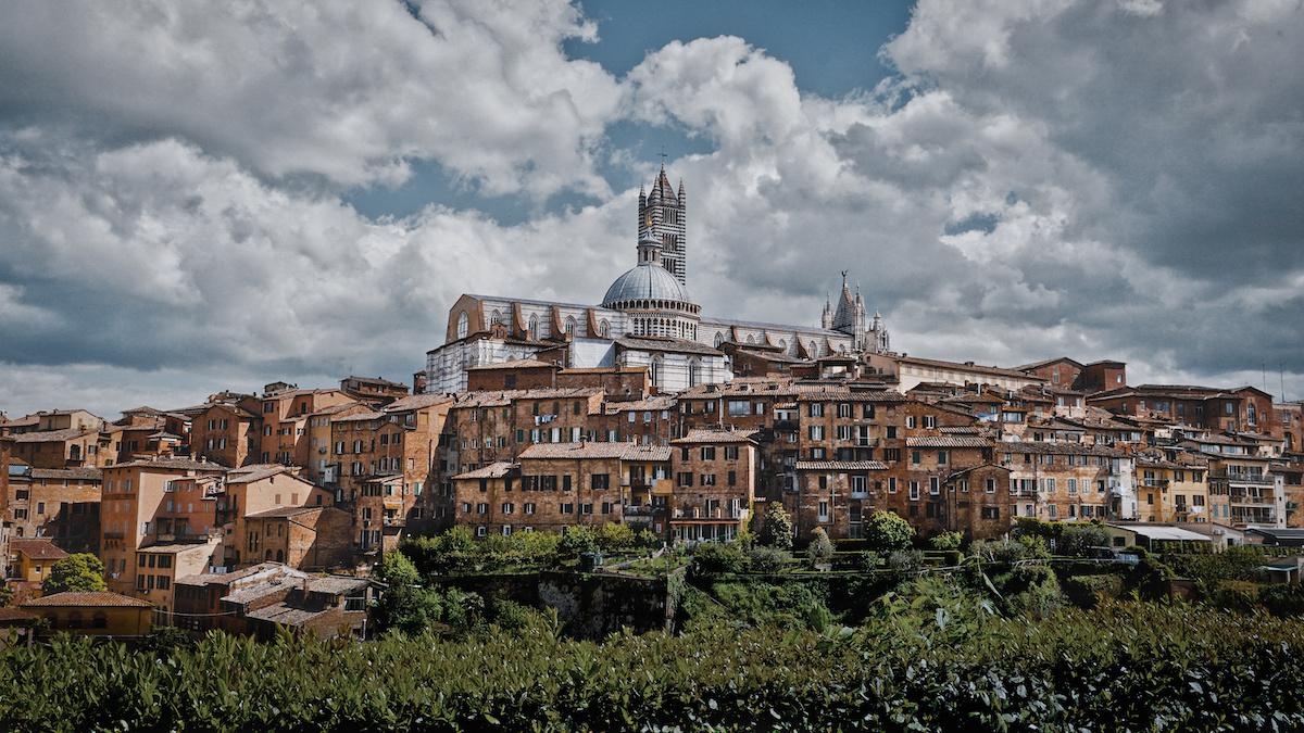 View from Basilica Cateriniana San Domenico