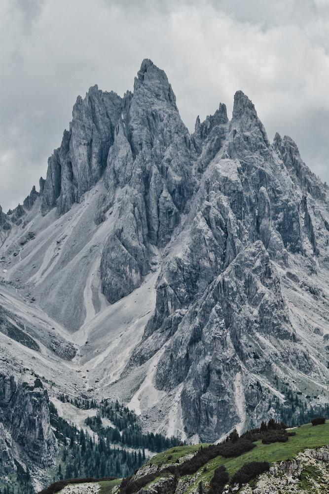 Dolomites Rock Formation
