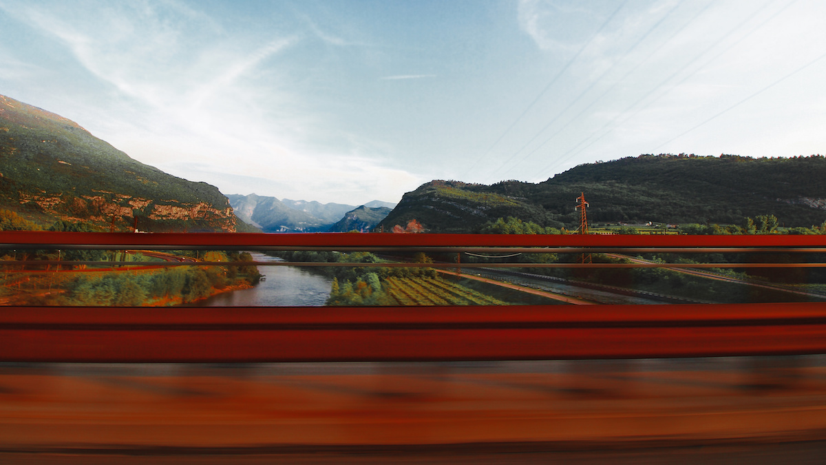 Roads through the Dolomites
