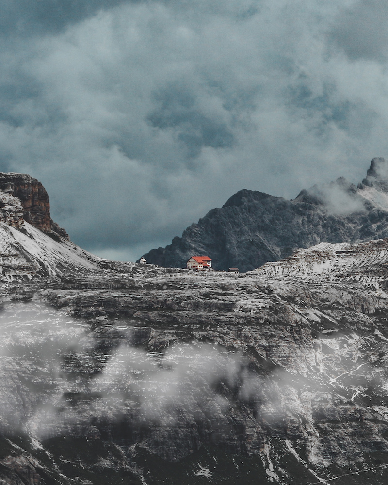 Mountain Huts in Tre Cime