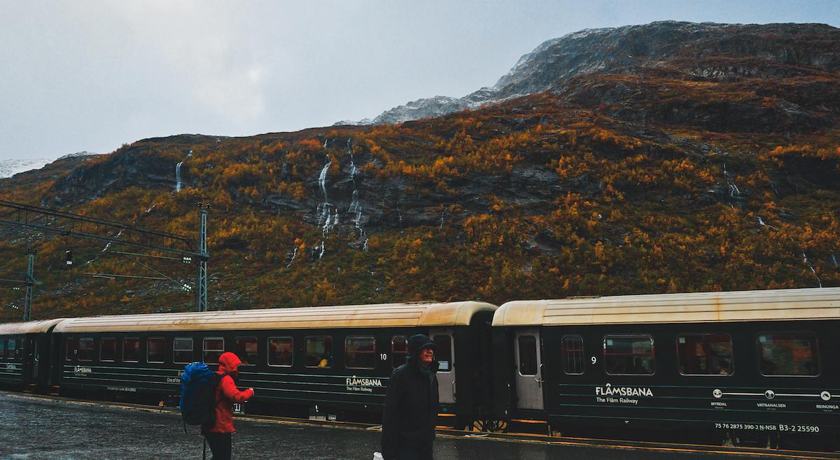 Flåmsbana at Myrdal Station