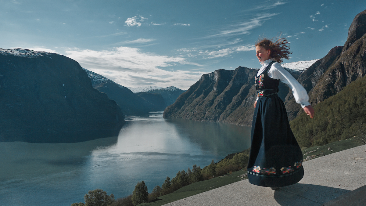 Road to Stegastein - View of Aurland Fjord