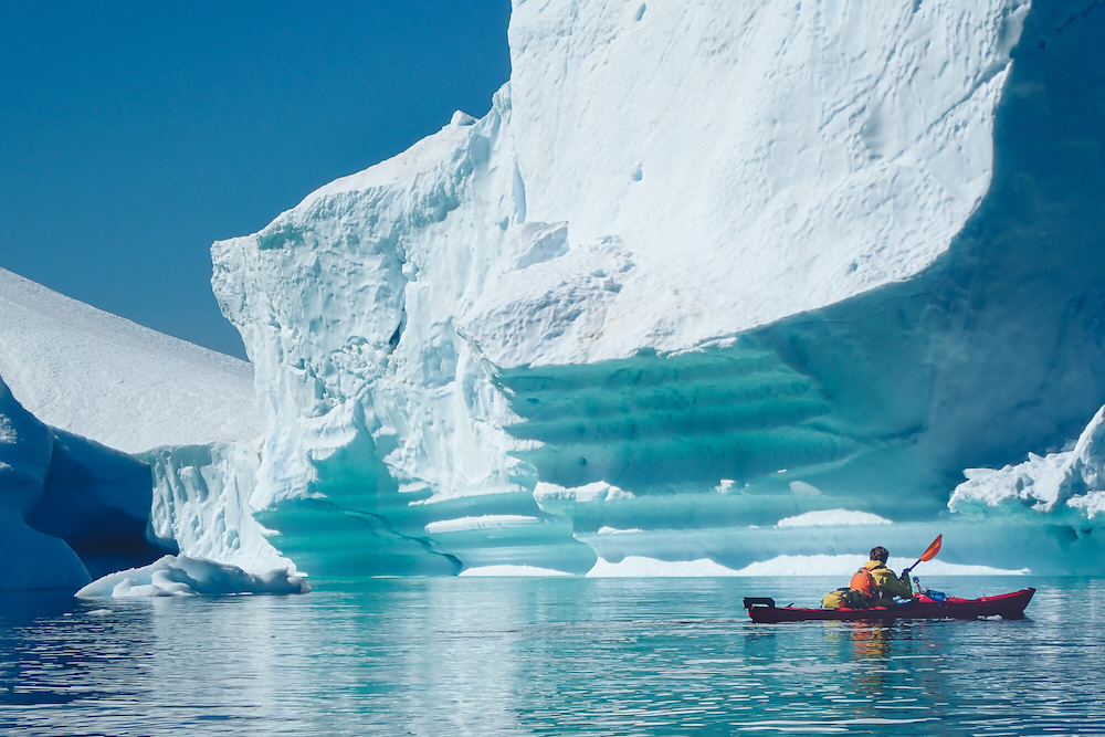 Greenland Expedition: Giant Icebergs
