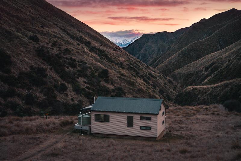 Fern Burn Hut - Sunrise