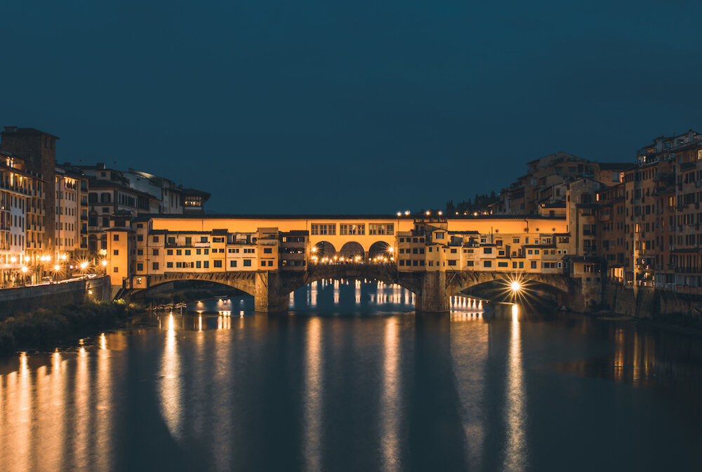 Ponte Vecchio, Florence // Photo by Faruk Kaymak